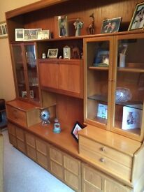 Display Cabinent - Parker Knoll / Nathan