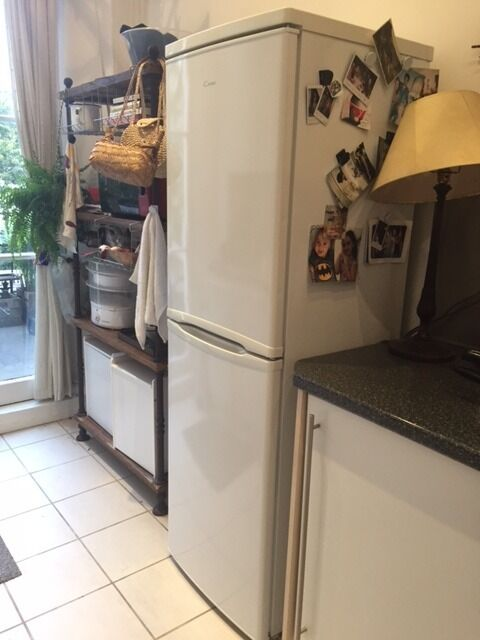 Candy Tall Fridge Freezer - White