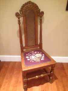 Six antique dining chairs $15 each Peterborough Peterborough Area image 1