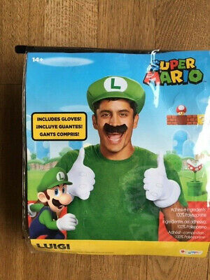 Super Mario - hier: Luigi -  Karneval / Fasching / Halloween ,  neu