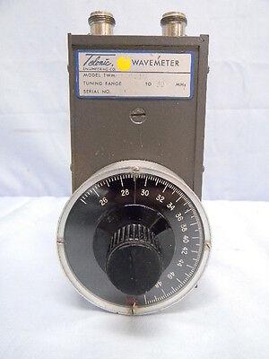 Telonic Twm-140219 Wavemeter Tuning Range 25-50mhz