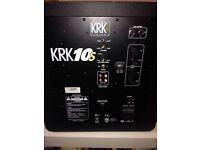 KRK RP6 G2 Monitor x2, KRK 10S2 Subwoofer Monitor