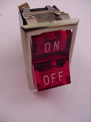 Carling Switch 8624 Spst Rocker Lighted Switch Ships Same Day Of Purchase