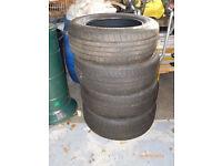 4 x 225/60 R17 tyres