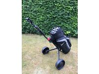 Nike Sport Golf Cart Bag and Masters MT P311 Trolley