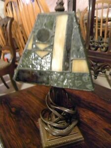 Replica Stained Glass Lamp