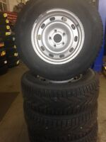 """SALE: Used Rim & Tire Package -17""""X7 - 5X139.7   Size: 265/70R17"""