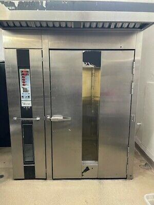 Baxter Natural Gas Rotating Single Rack Bakery Oven 250000 Btu Working