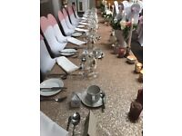 EX BUSINESS STOCK - BLUSH CHAMPAGNE SEQUIN TABLECLOTHS