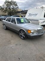 1988 MERCEDES BENZ 420 SEL $5400 AS IS London Ontario Preview