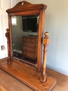 Antique dresser mirror