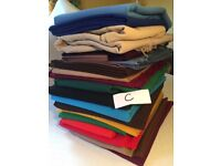 Batch C retro vintage fabric material includes terylene