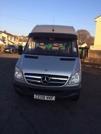 Mercedes Sprinter 313 cdi LWB High roof with low millage
