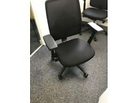 office furniture black office chairs