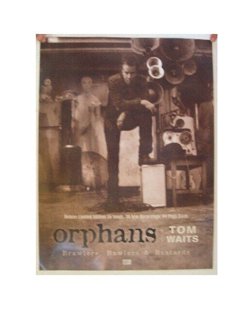 Tom Waits Poster Orphans