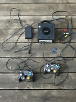 Nintendo Gamecube with 2 Remotes and Memory Card