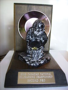 Gold Panning Trophy
