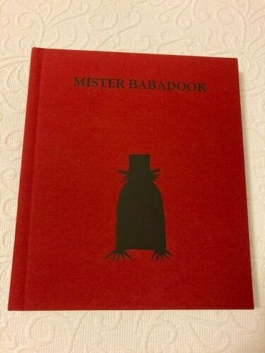 MISTER BABADOOK Pop-up Book 1st Edition Signed Jennifer Kent