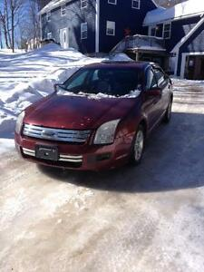 2007 Ford Fusion for sale. (reduced to make room in the garage)
