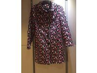 Dorethy Perkins very pretty spotted coat cotton finish size 16