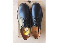 Dr Martin original 1461 mens black lace up shoes
