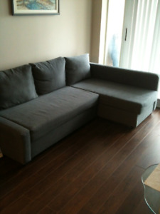 Sofa-bed with storage