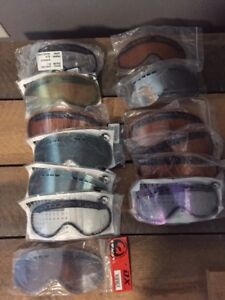 Replacement Lenses for Dargon DX Goggles