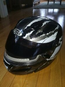 Snowmobile Helmet GMAX Modular Heated Visor