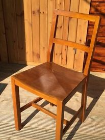 Very old small child's desk chair