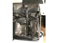 Tumi All leather Luke Roll Top Back Pack