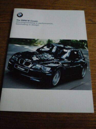 NICE BMW M COUPE BROCHURE