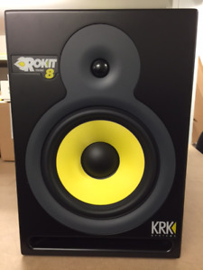 KRK Rokit RP-8 8in Active Monitor (Pair) Gen 1