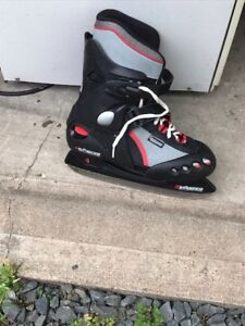 Boy skates.  Expands to fit size 4,5 or 6