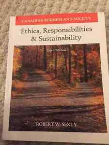 Ethics, Responsibilities & Sustainability