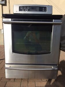 Stainless Steel LG Electric Range and Oven