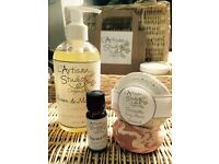 Naturally Inspired terracotta hand soaps and organic skincare gift set. 10 sets-Job lot