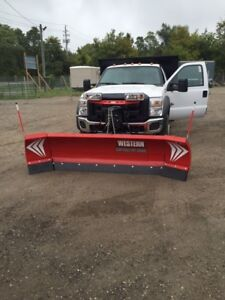 SNOW PLOWS & SALTERS & BOXES