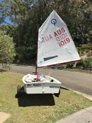 Optimist Sailing Dinghy Bayview Pittwater Area Preview