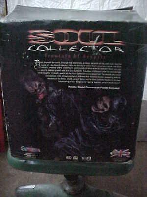 Soul Collector Fountain of Despair Halloween Water Fountain Grim Reaper, Skulls
