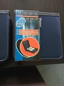 Dvd/Cd Portable Storage Folders (Brand New) x 2 Maryland 2287 Newcastle Area Preview
