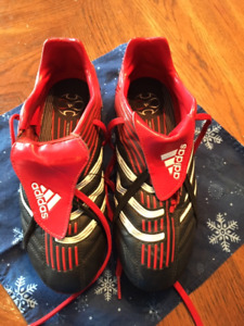 Red Adidas Soccer Cleats Size 5