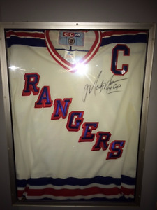 Authentic Signed Mark Messier '94 NY Rangers Jersey