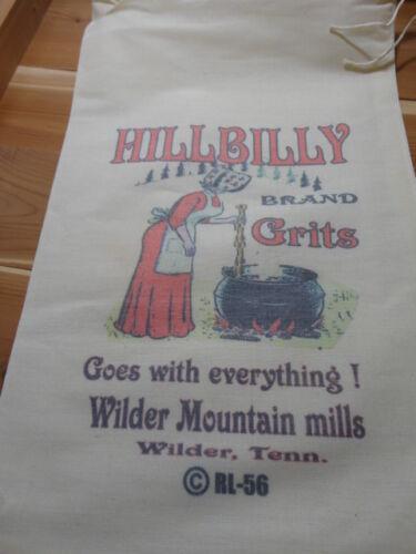 RL-56 Grits Flour Bag Sack Feed Seed  Novelty Collectible