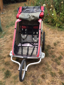 Chariot Cheetah 2 - double jogging stroller
