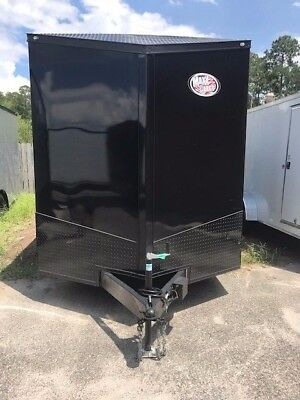 2019 7x14TA Enclosed Cargo Trailer **BLACKOUT EDITION**