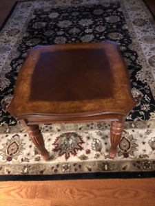 2 end tables purchased from Bombay