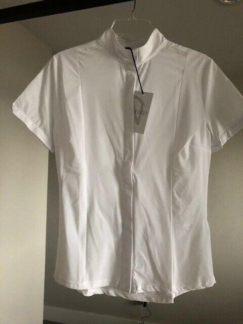 Ego7 Short Sleeve Show Shirt White Size 42 Womens