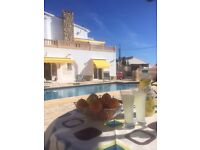 SPANISH VILLA TO RENT IN LA FUSTERA, CALPE, ALICANTE, COSTA BLANCA, SLEEPS 9