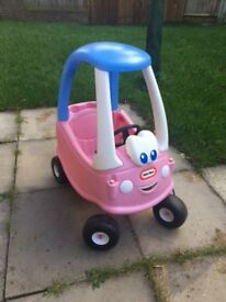 Little Tykes Cozy Coupe Car - Pink