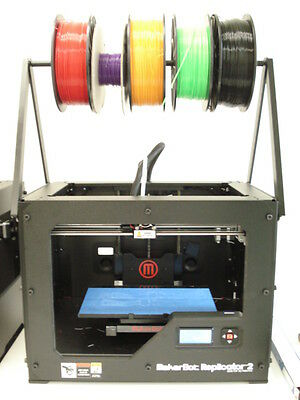 Makerbot Replicator 2 Overhead Spool Holder. Change Material Super Fast Easy